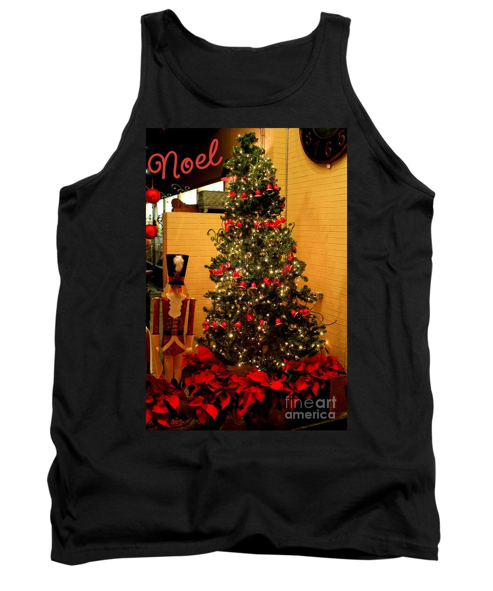 The First Noel Lyrics Tank Top featuring the photograph Noel by Kathy White