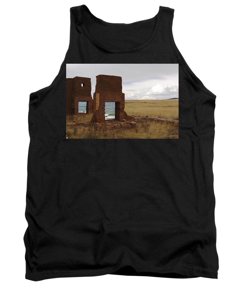 New Mexico Tank Top featuring the photograph Ocean Front by Greg Wells