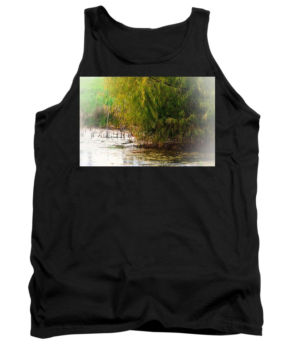 October Wetlands 2013 Tank Top featuring the photograph October Wetlands 2013 by Maria Urso