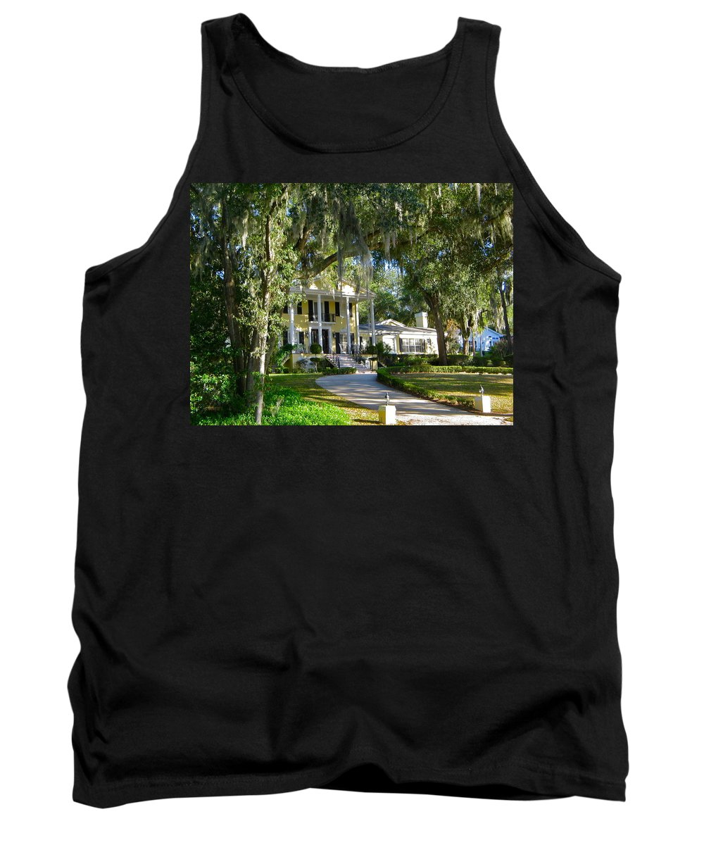 Home Tank Top featuring the photograph In Old Florida by Denise Mazzocco
