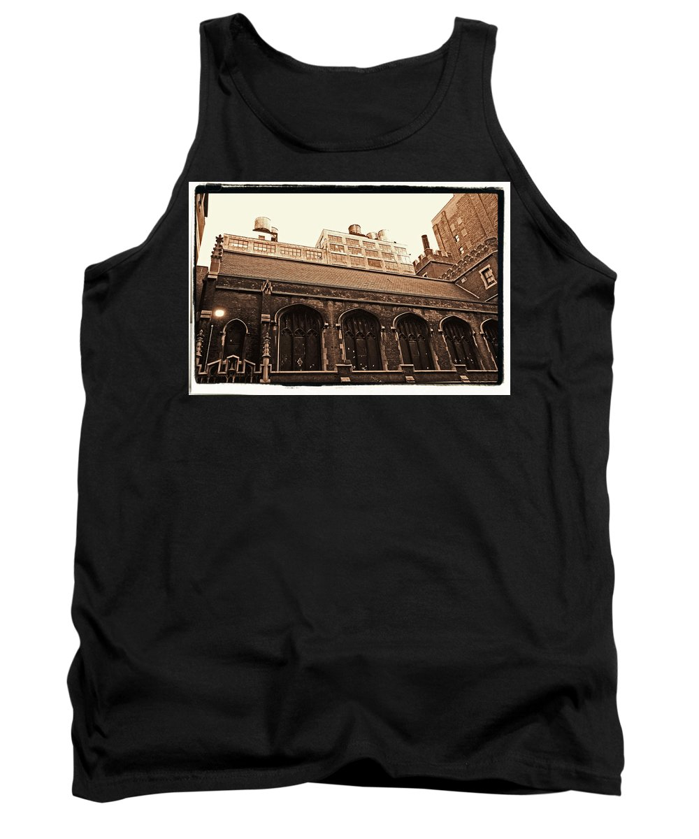 New York Tank Top featuring the photograph Old Industry by Donna Blackhall