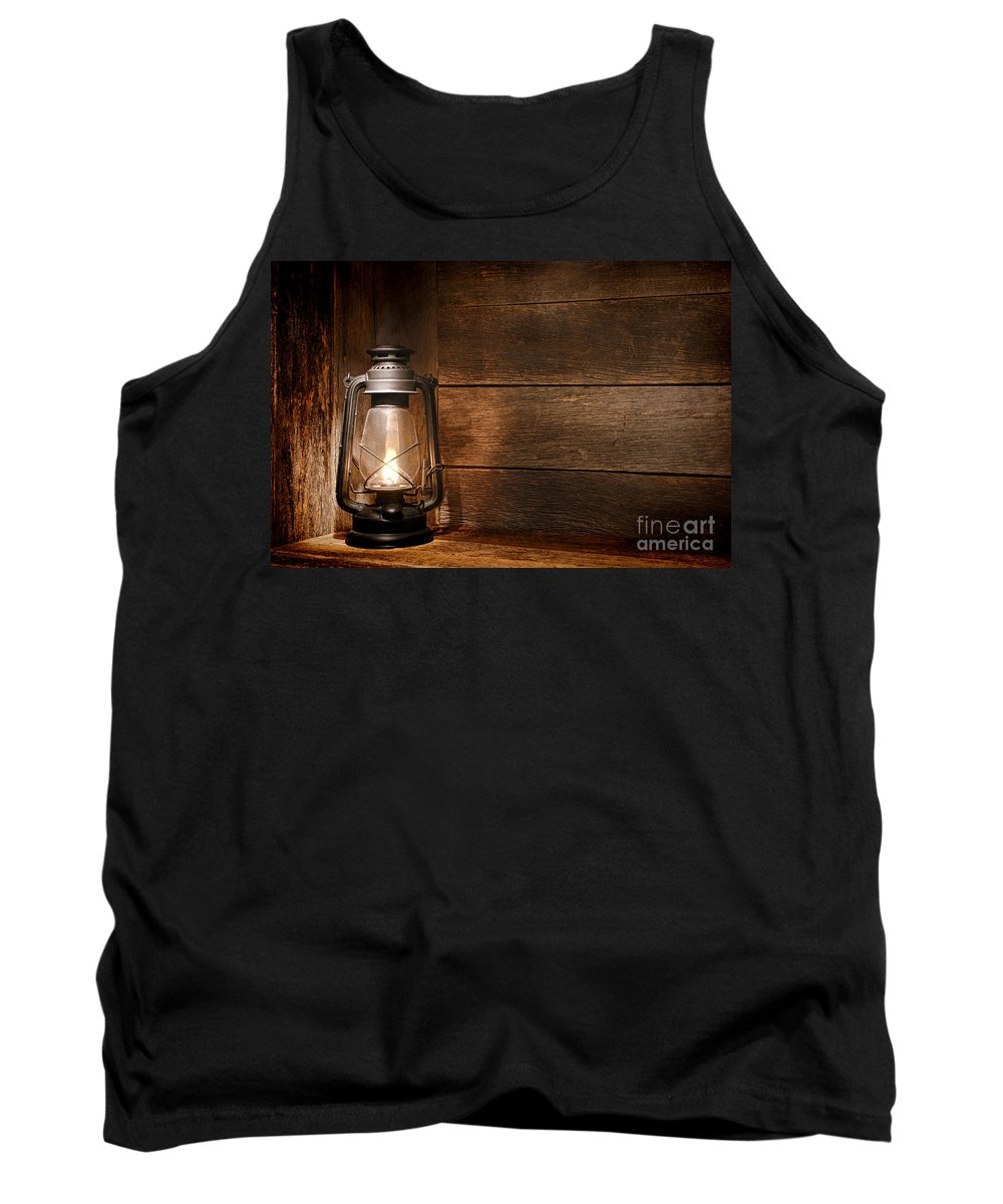 Kerosene Tank Top featuring the photograph Old Kerosene Light by Olivier Le Queinec