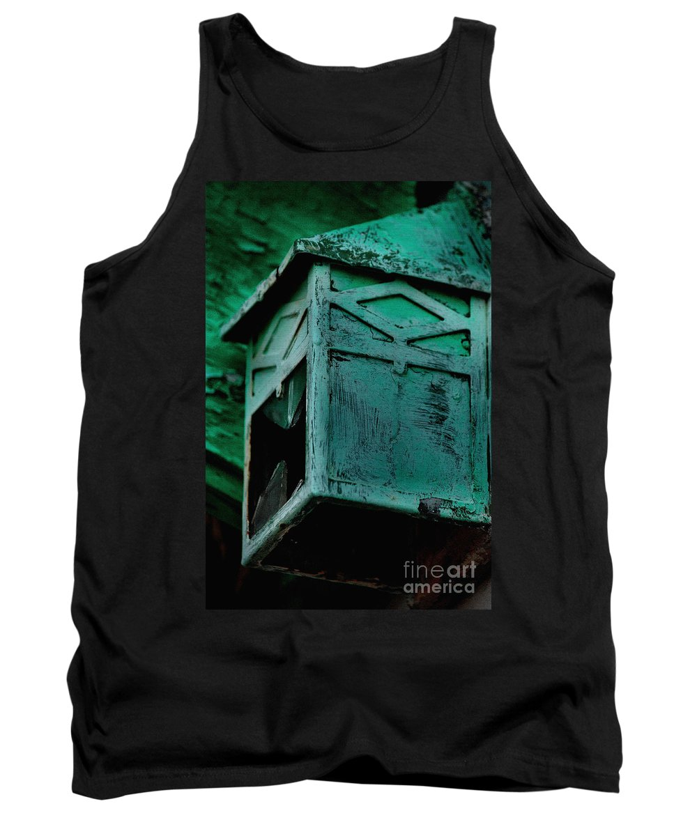 Old Lantern Art Tank Top featuring the photograph Old Lantern by Luv Photography