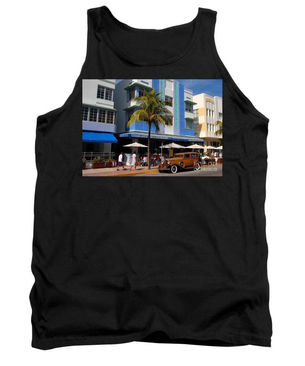 Miami Florida Tank Top featuring the photograph Old Miami by David Lee Thompson