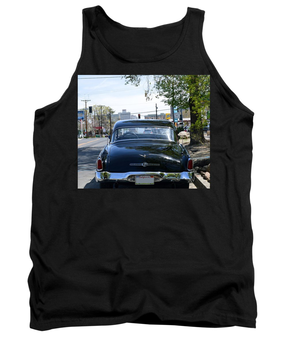 Car Tank Top featuring the photograph Old Studebaker by Brent Dolliver