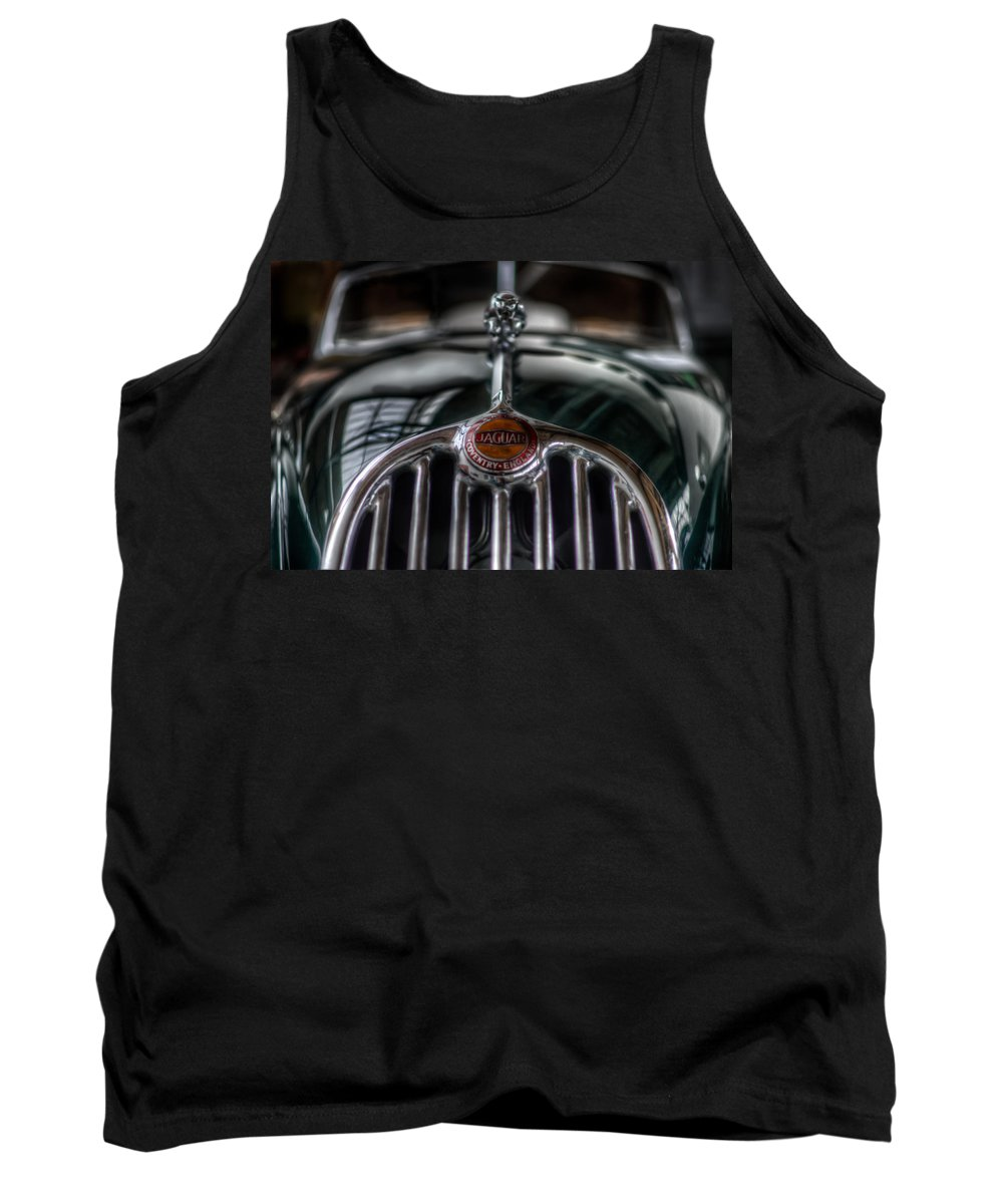 Car Tank Top featuring the digital art Old Wild Cat by Nathan Wright