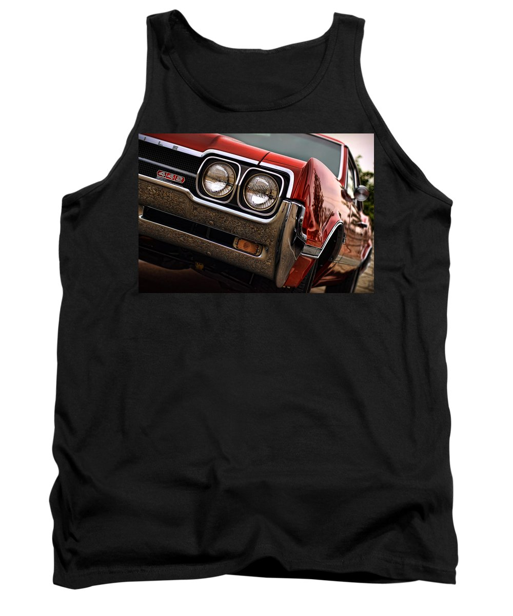 1966 Tank Top featuring the photograph Olds 442 - 1966 by Gordon Dean II