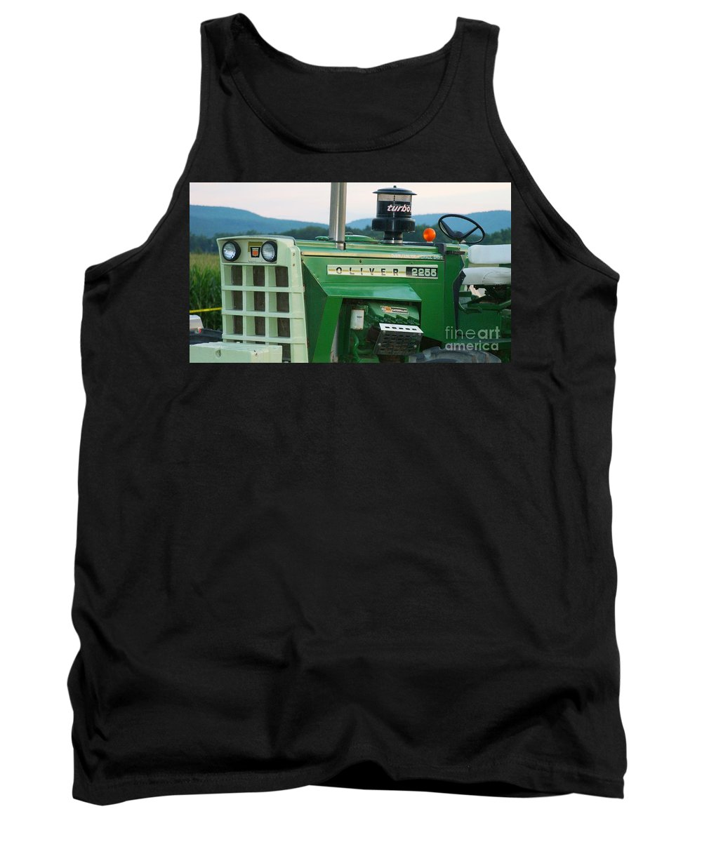 Oliver Tank Top featuring the photograph Oliver 2255 Tractor by Rob Luzier