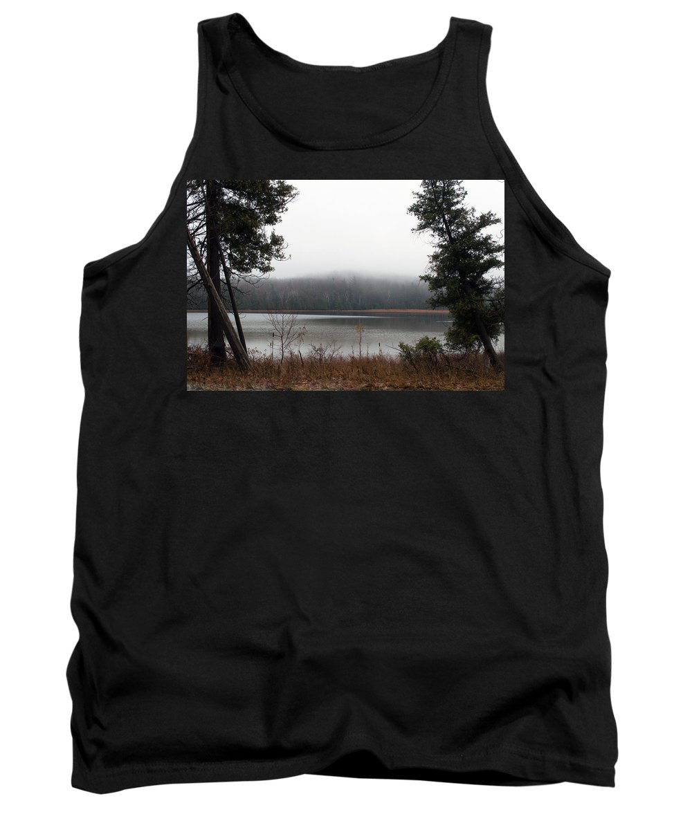 Platte River Tank Top featuring the photograph On The Platte by Linda Kerkau