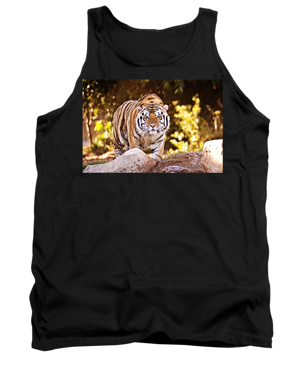 Nature Tank Top featuring the photograph On The Prowl by Scott Pellegrin