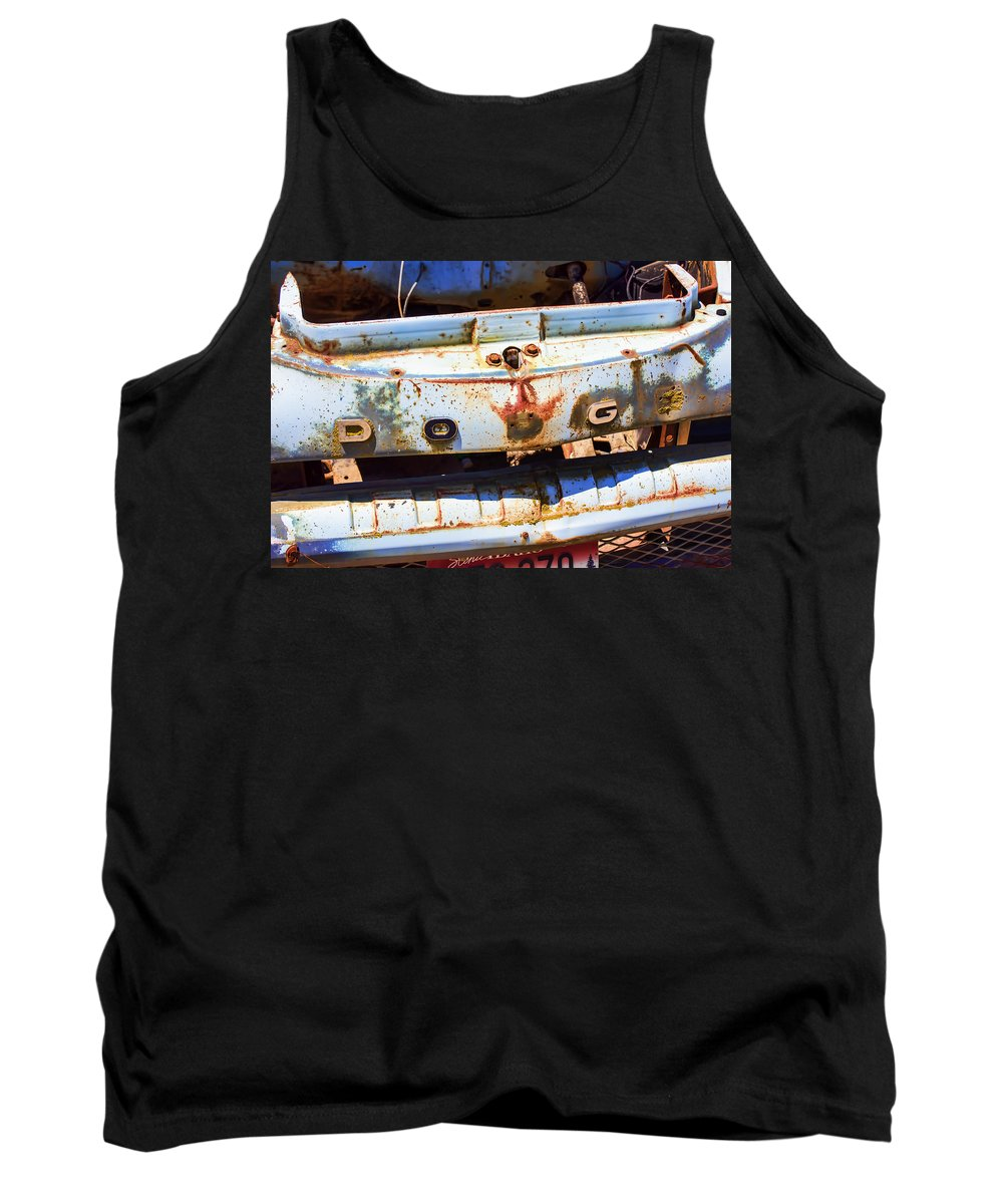 Dodge Tank Top featuring the photograph Once A Dodge by Cathy Anderson