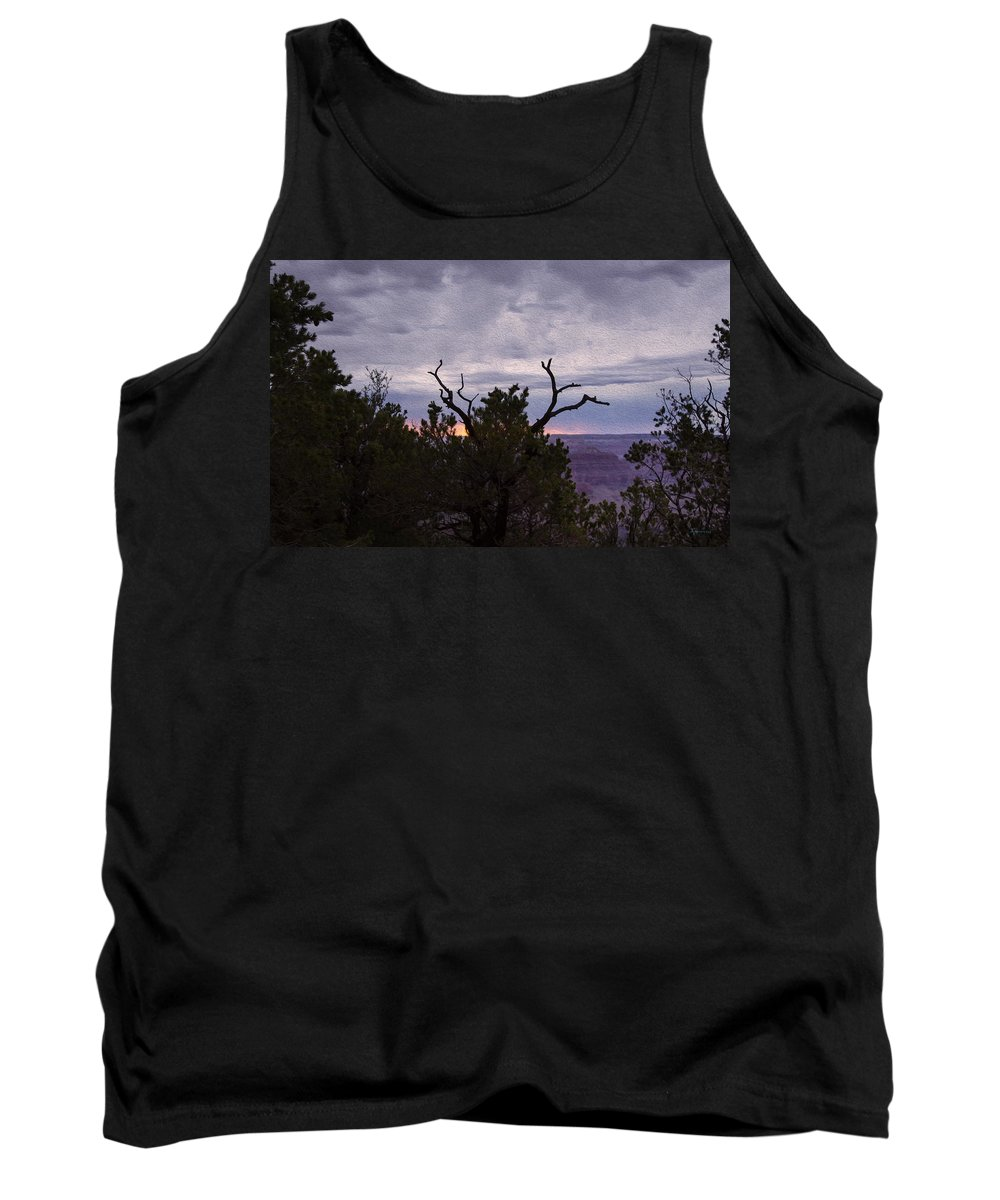Landscape Tank Top featuring the photograph Orchestrating A Sunset At The Grand Canyon by John M Bailey