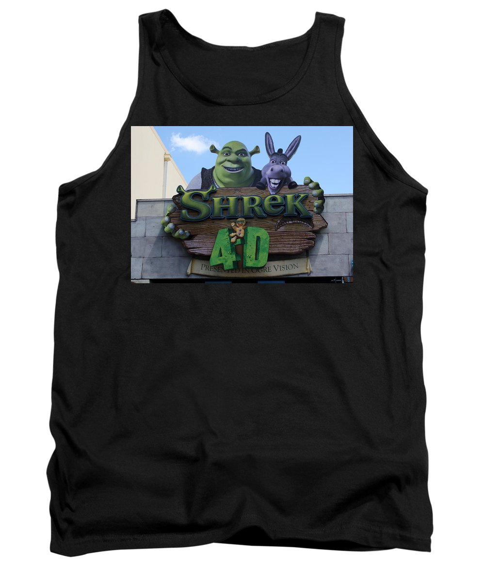Orlando Tank Top featuring the photograph Ogre Vision by David Nicholls
