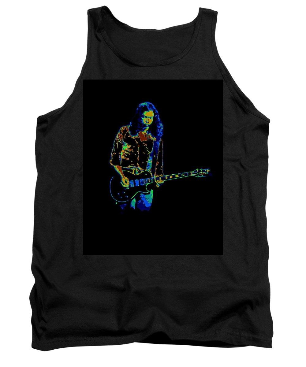Outlaws Tank Top featuring the photograph Outlaws #12 Art Psychedelic by Ben Upham