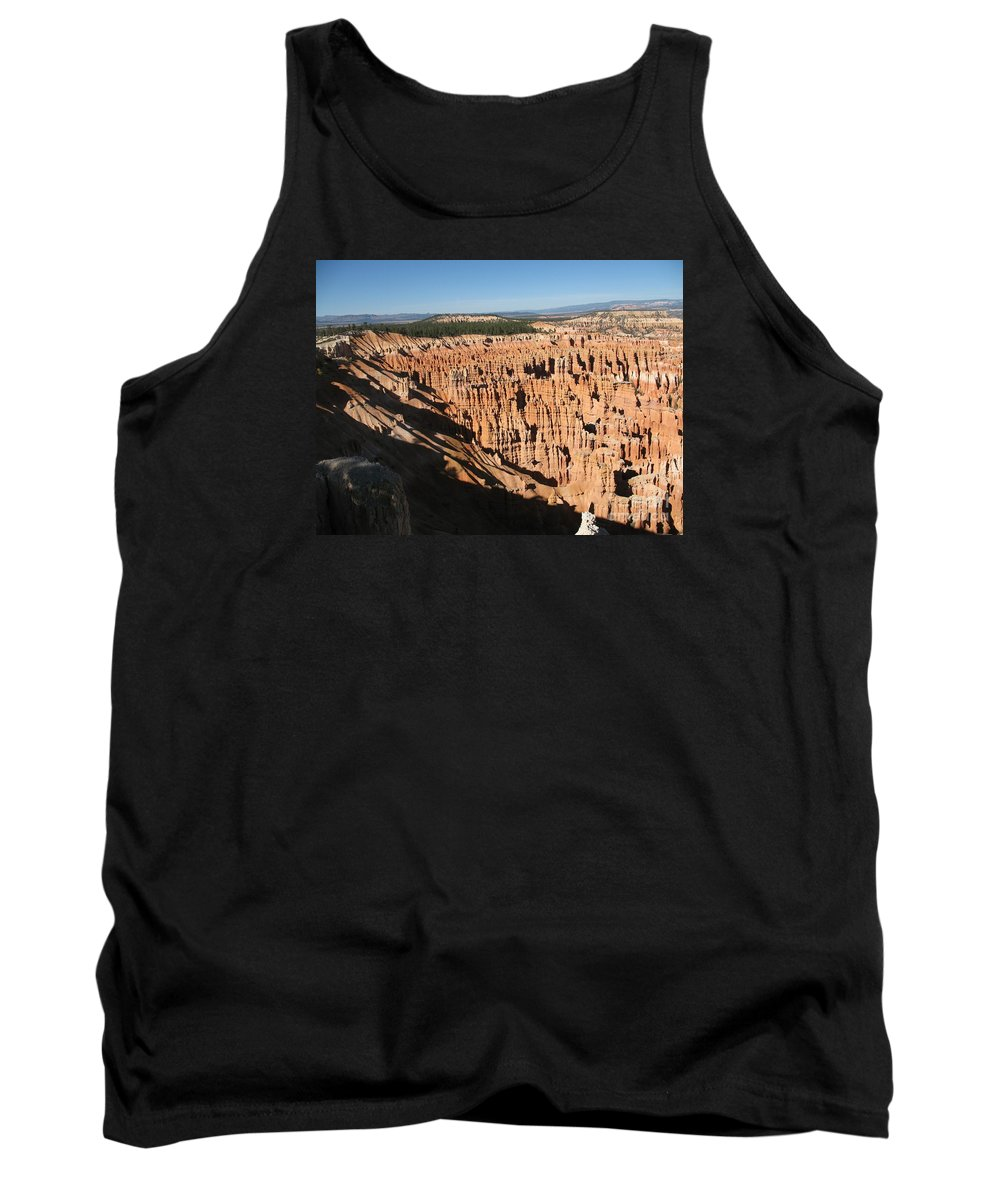 Mountians Tank Top featuring the photograph Overview At Bryce Canyon by Christiane Schulze Art And Photography