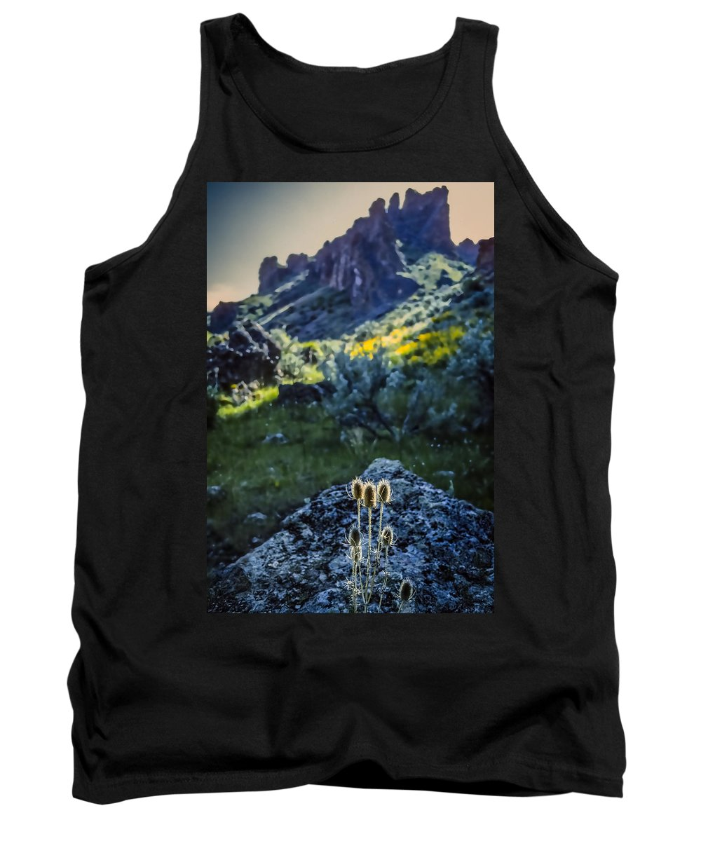 Owyhee River Tank Top featuring the photograph Owyhee River 1 by Mike Penney