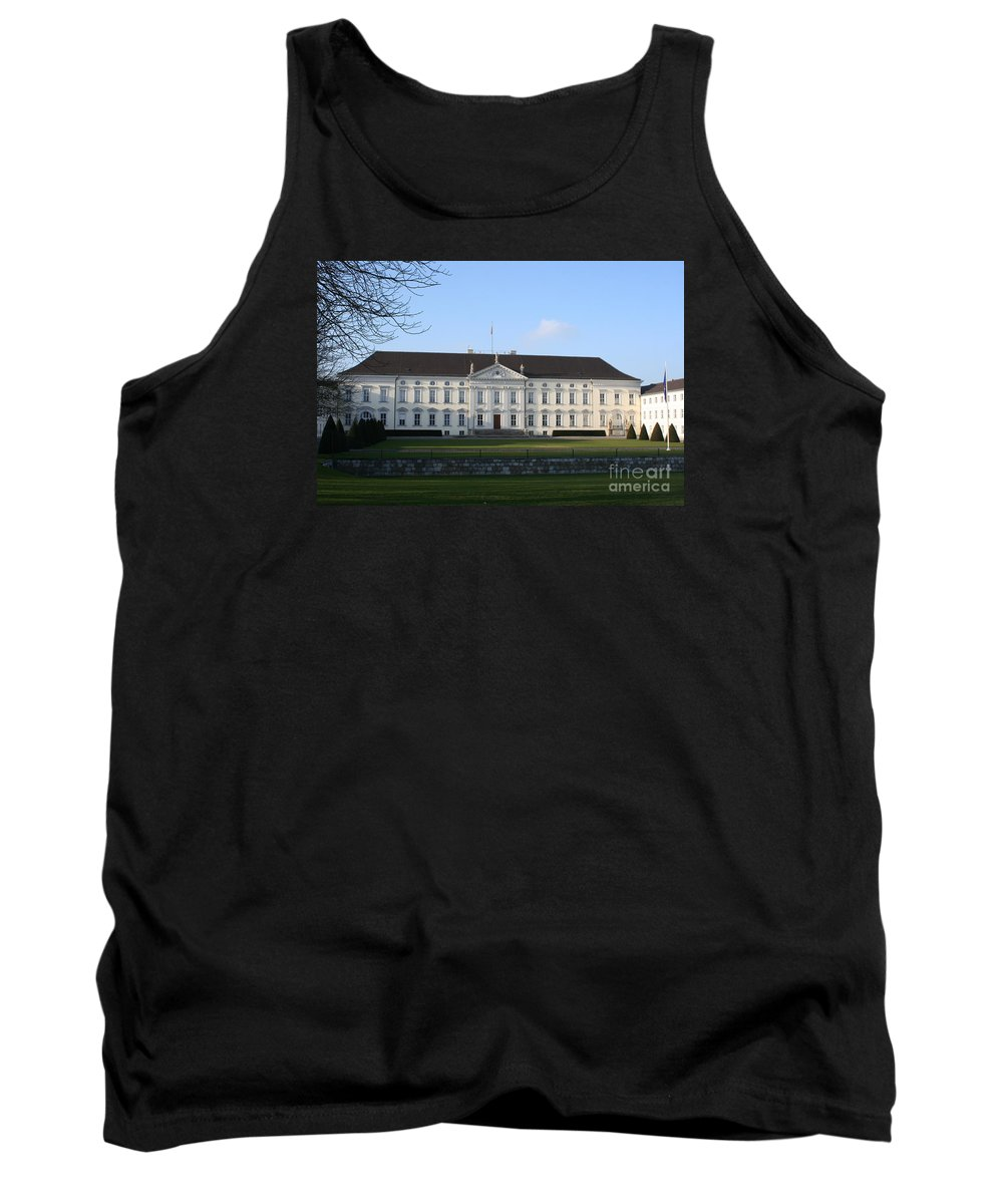 Palace Tank Top featuring the photograph Palace Bellevue - Berlin by Christiane Schulze Art And Photography