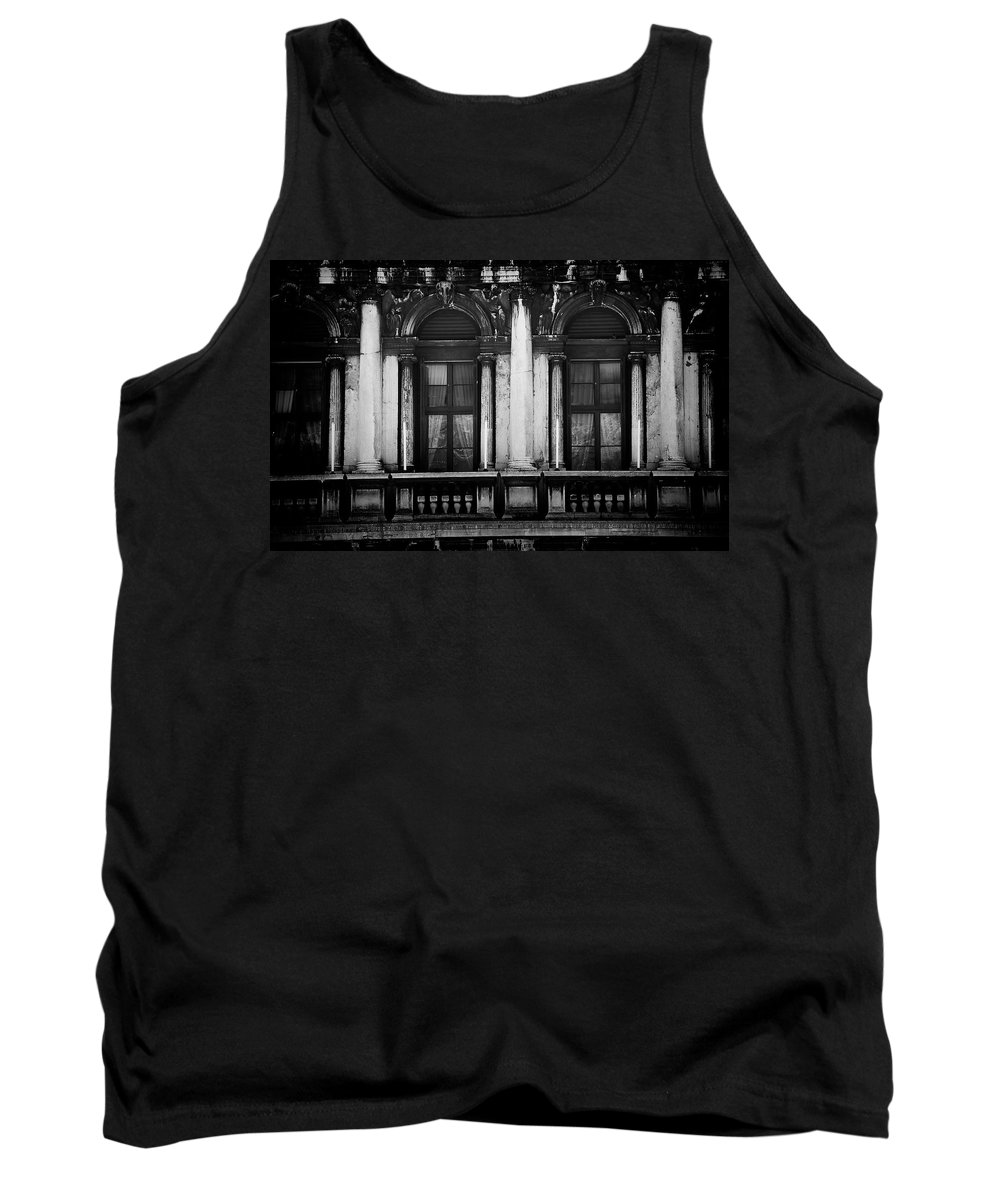 Venice Tank Top featuring the photograph Palace In Venice by David Resnikoff