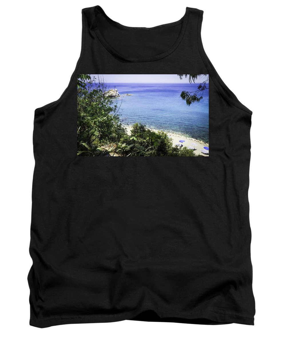Sand Tank Top featuring the photograph Paradise Found by Nick Field