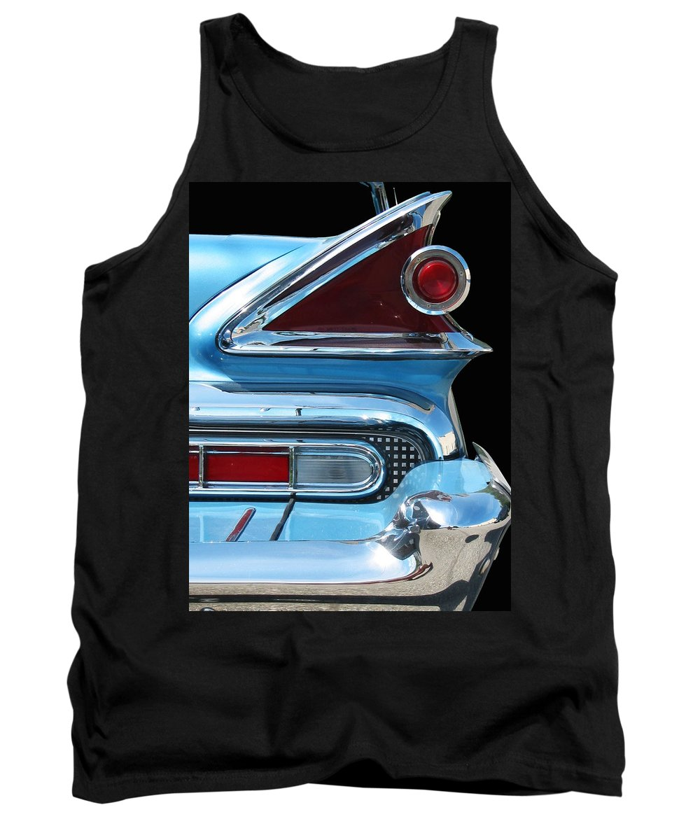 Mercury Tank Top featuring the photograph Park Lane Tail Light by Larry Hunter