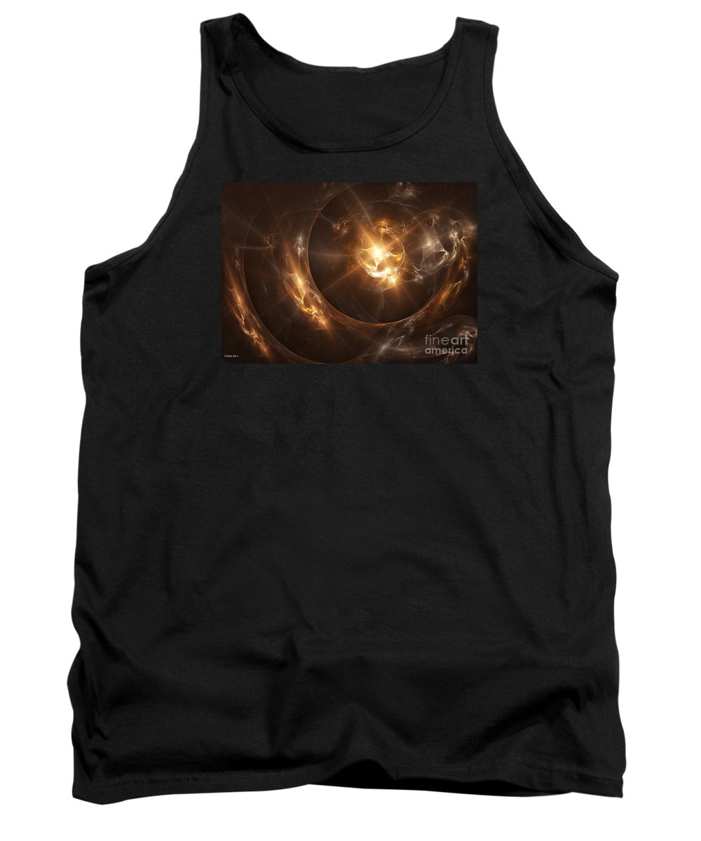 Star Tank Top featuring the digital art Parturition by Shari Nees