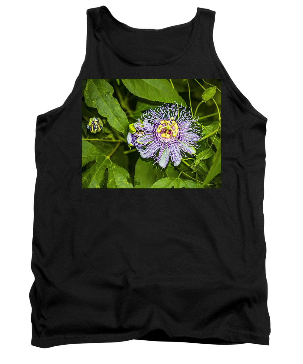 Southwest Tank Top featuring the photograph Passion Flower by Brian King
