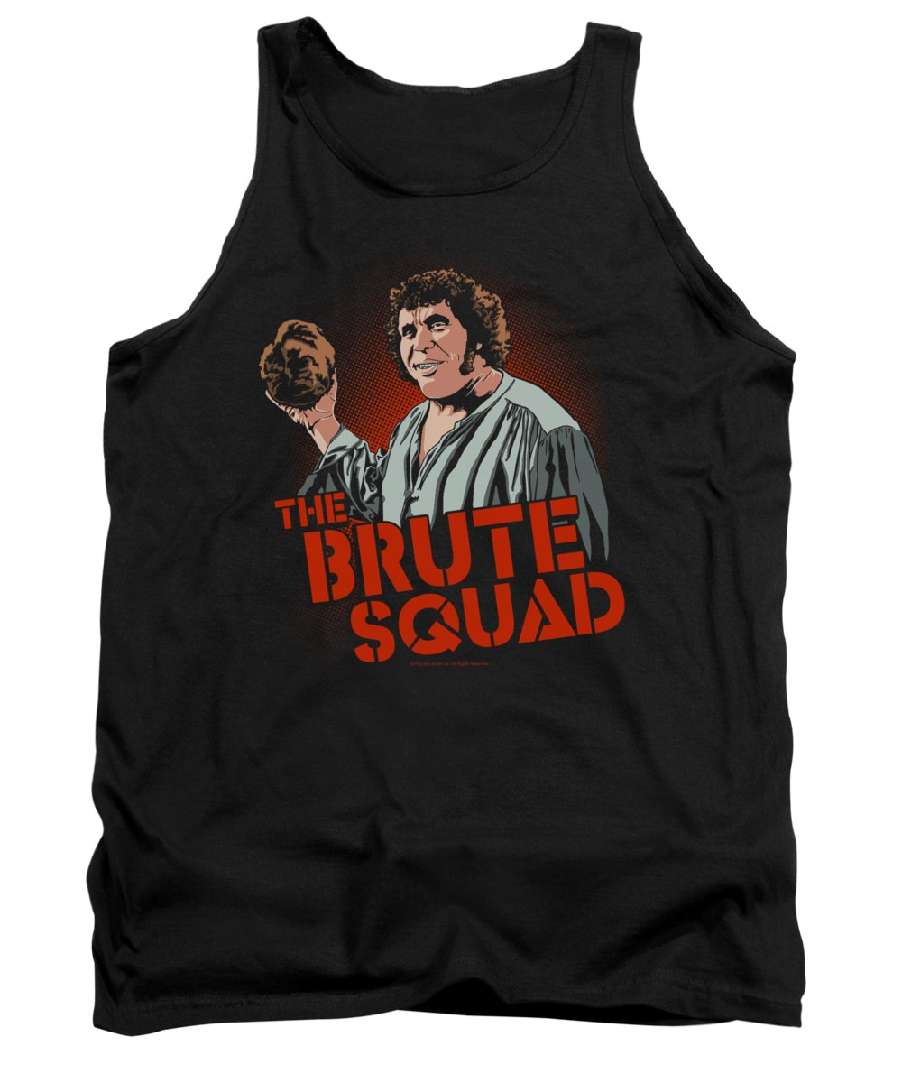 The Princess Bride Tank Top featuring the digital art Pb - Brute Squad by Brand A