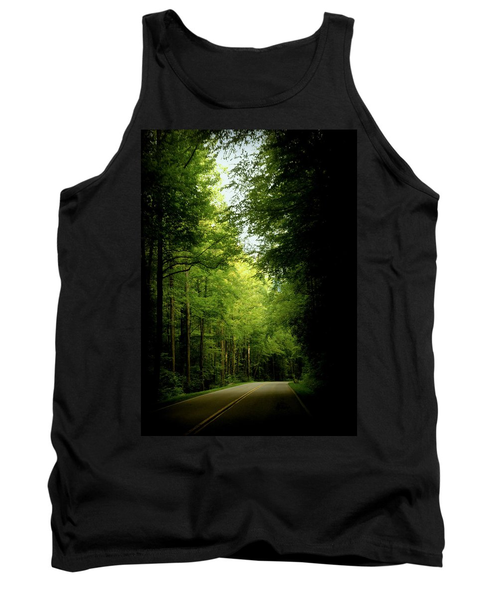 Peace Tank Top featuring the photograph Peace Found Within by Karen Wiles