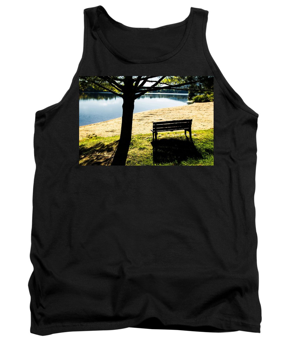 Shadows Tank Top featuring the photograph Peaceful Shadows by Karol Livote