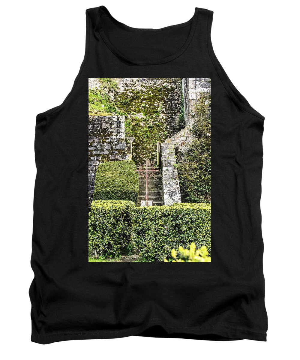 Travel Tank Top featuring the photograph Pilgrim's Steps by Elvis Vaughn