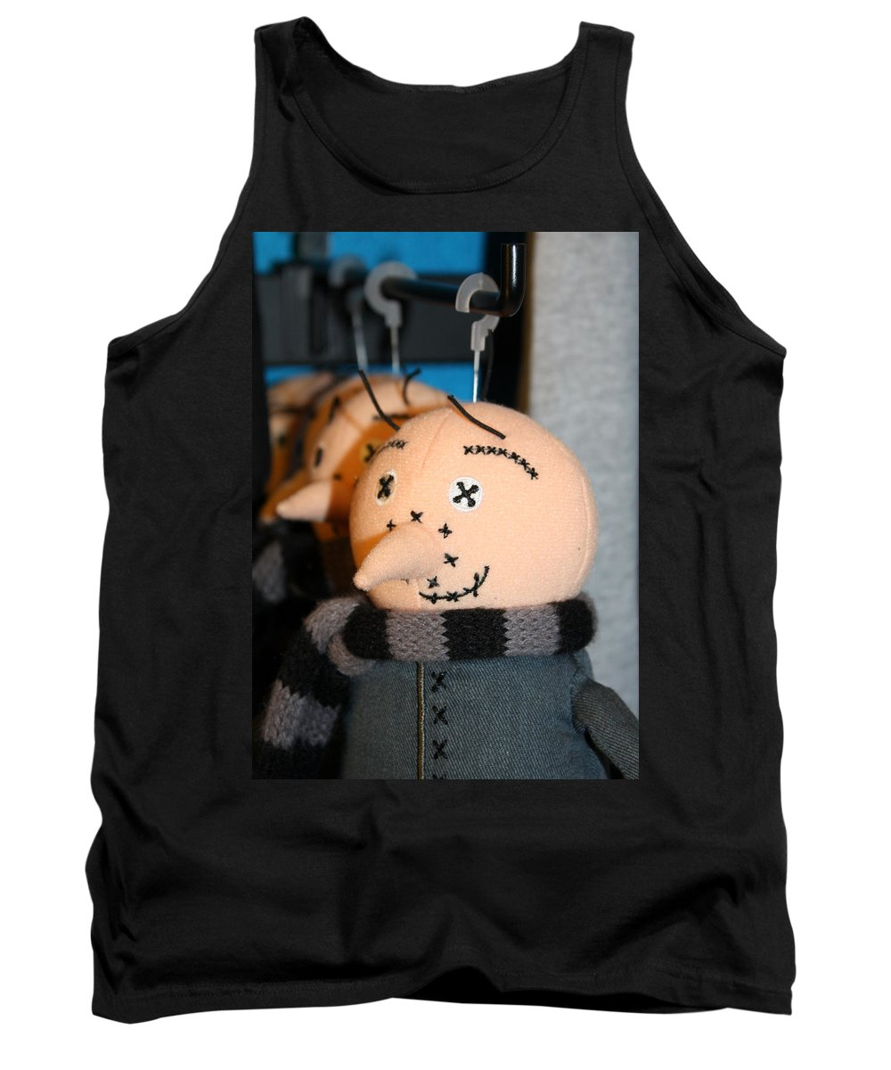 Orlando Tank Top featuring the photograph Plush Gru by David Nicholls