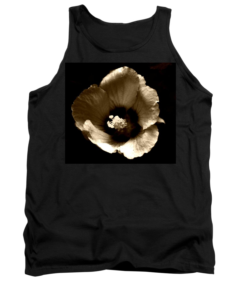 Poetic Shadows Tank Top featuring the photograph Poetic Shadows by Chastity Hoff