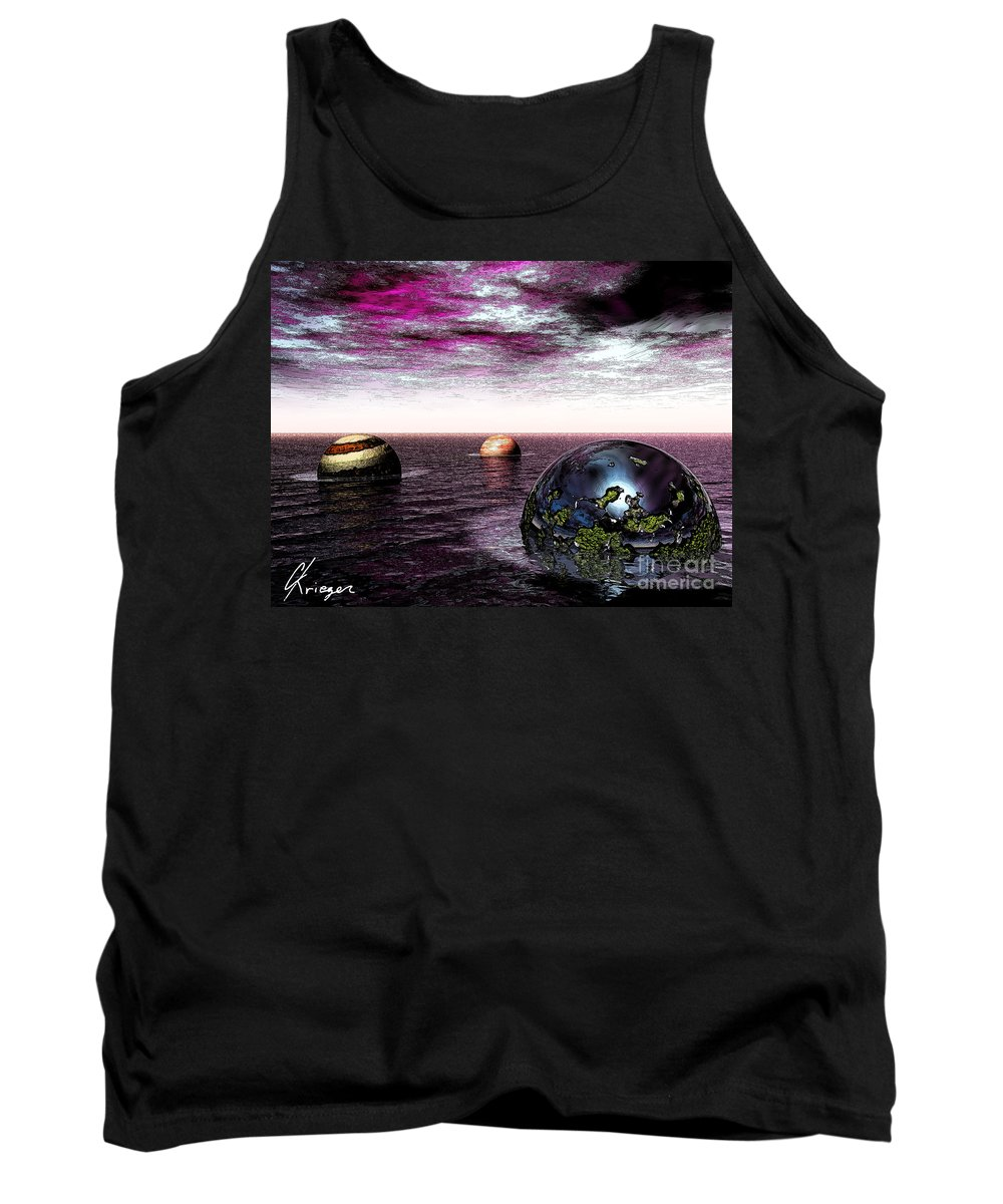 Abstract Tank Top featuring the photograph Possibilities by Christopher Krieger