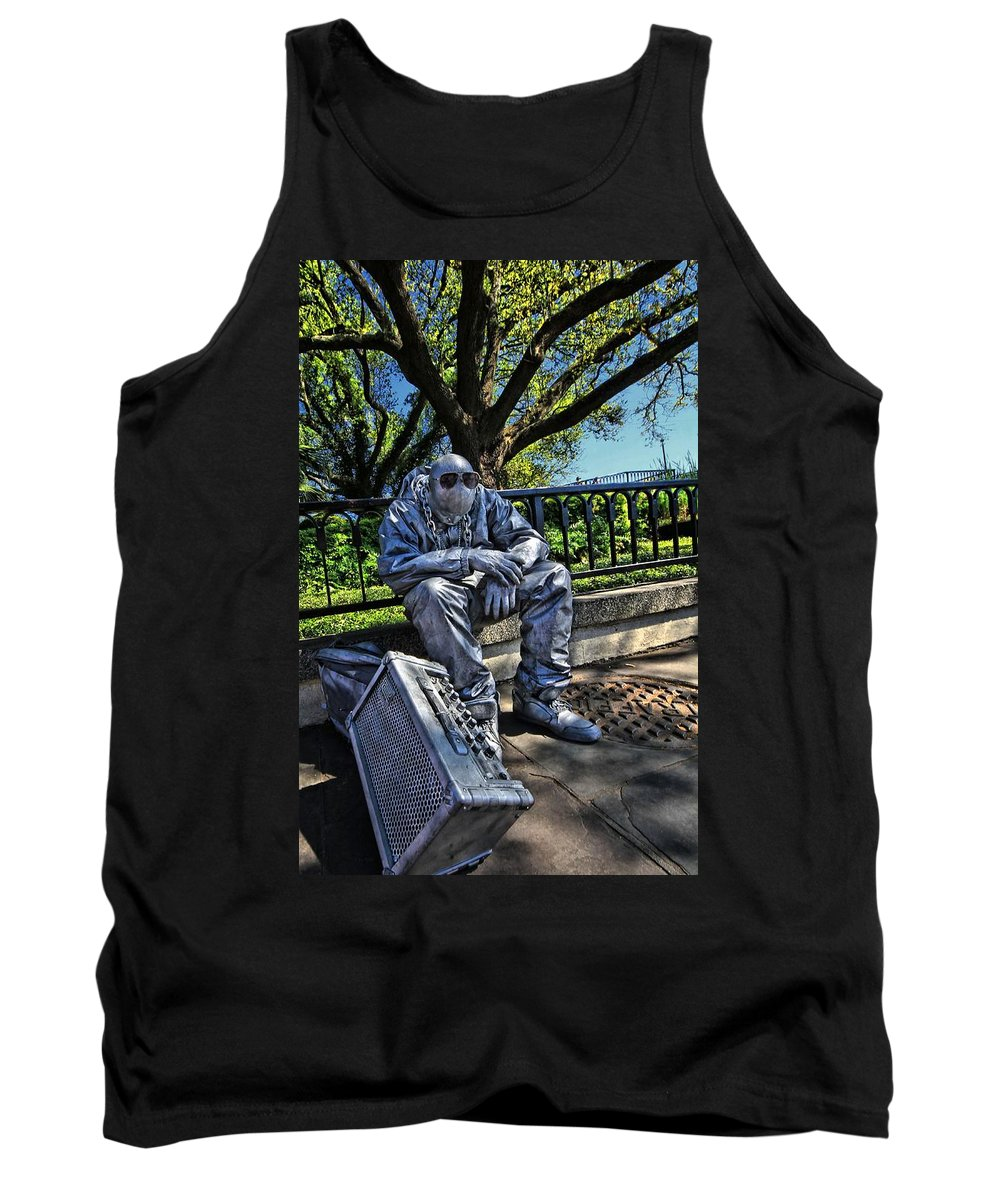 Landscape Tank Top featuring the photograph Power Failure by Robert McCubbin