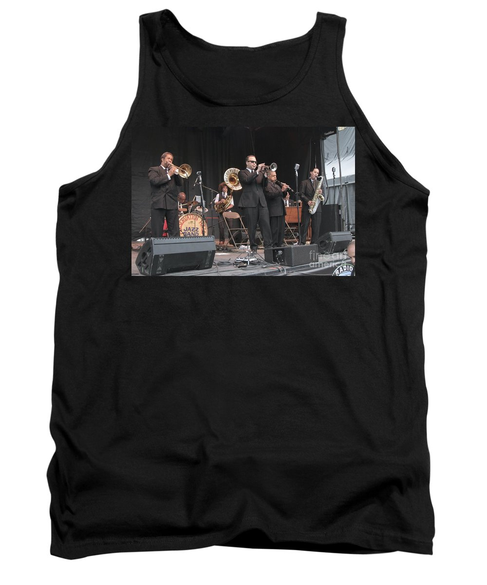 Preservation Hall Jazz Band Tank Top featuring the photograph Preservation Hall Jazz Band by Concert Photos