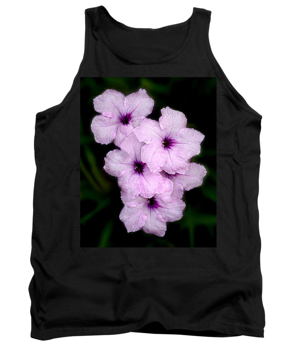 Flowers Tank Top featuring the photograph Purple Passion by Doug Heslep