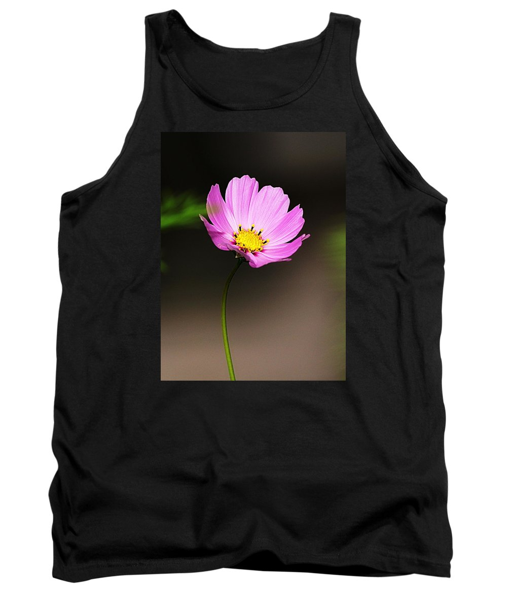 Wildflower Tank Top featuring the photograph Purple Wildflower by Paul Wilford