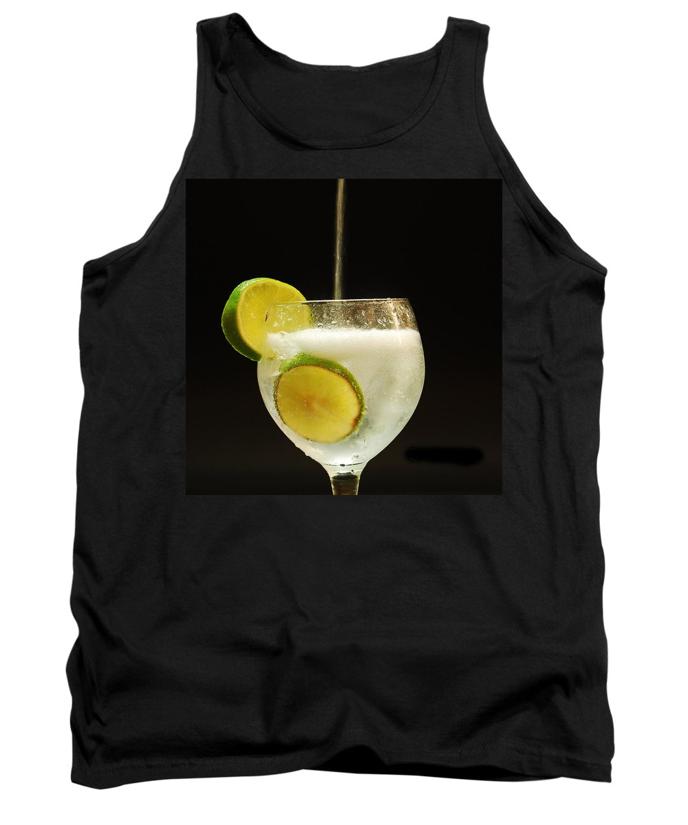 Refresh Tank Top featuring the photograph Putting Tonic by Gina Dsgn