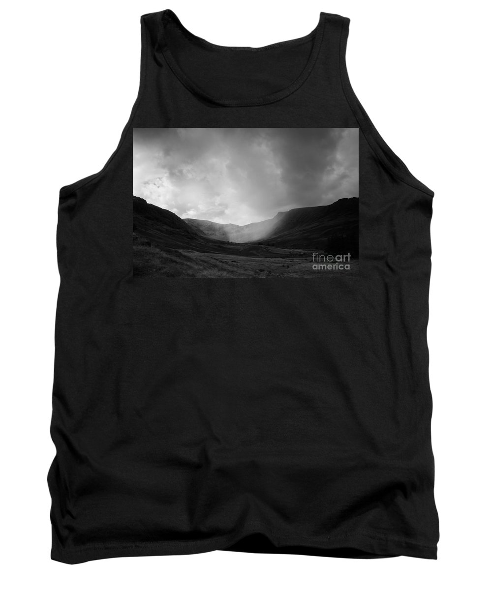 Landscape Tank Top featuring the photograph Rain In Riggindale by Kathryn Bell