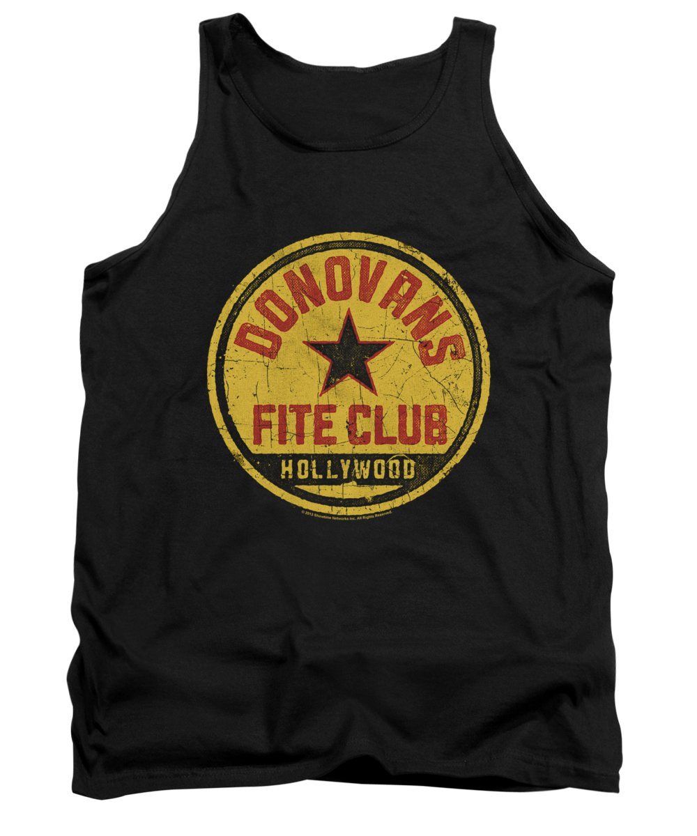 Ray Donovan Tank Top featuring the digital art Ray Donovan - Fite Club by Brand A