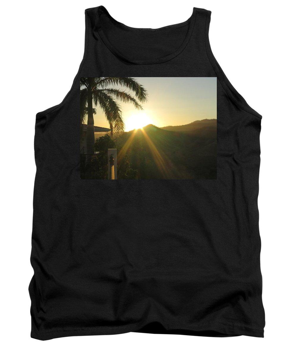Sun Tank Top featuring the photograph Rays by Jessica Myscofski