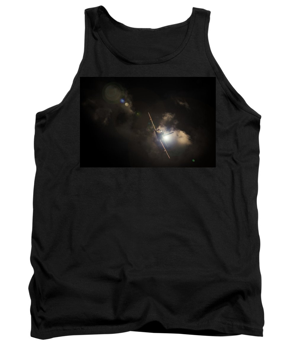 Aircraft Tank Top featuring the photograph Ready For The Attack by Paul Job