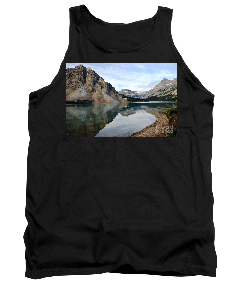 Landscape Tank Top featuring the photograph Reflections by Deanna Cagle