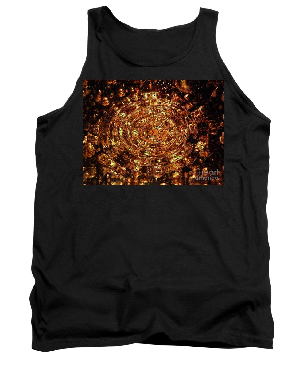 Bubble Tank Top featuring the photograph Reflections Of Yellow by Joseph Baril