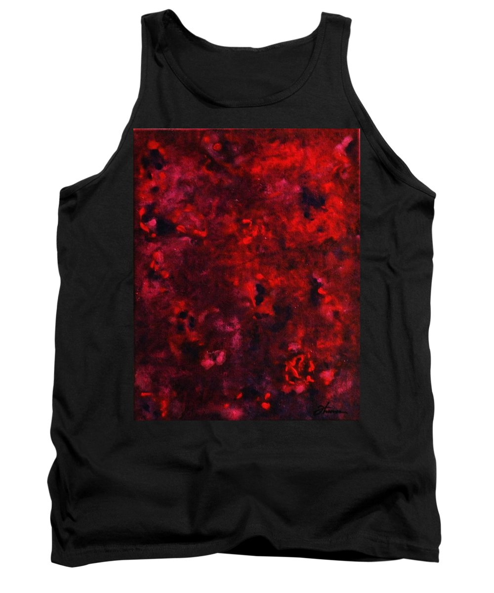 Acrylic Tank Top featuring the painting Remembrance by Todd Hoover