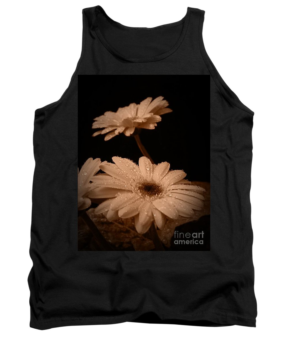 Renewal Sepia Tank Top featuring the photograph Renewal Sepia by Chalet Roome-Rigdon