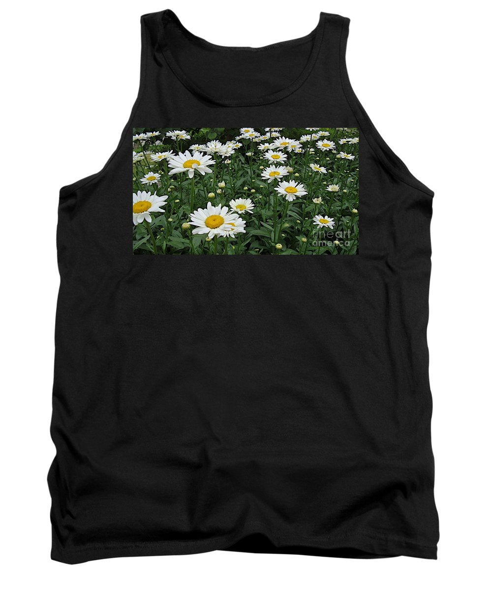Daisy Tank Top featuring the photograph Requested Daisies by Joseph Yarbrough