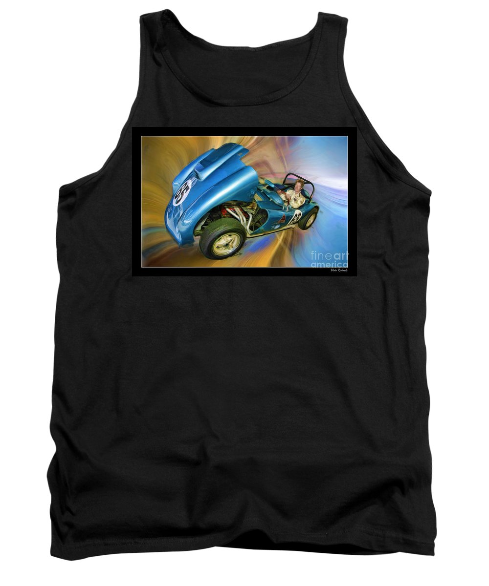 Tank Top featuring the photograph Rick In His 1958 Echidna by Blake Richards