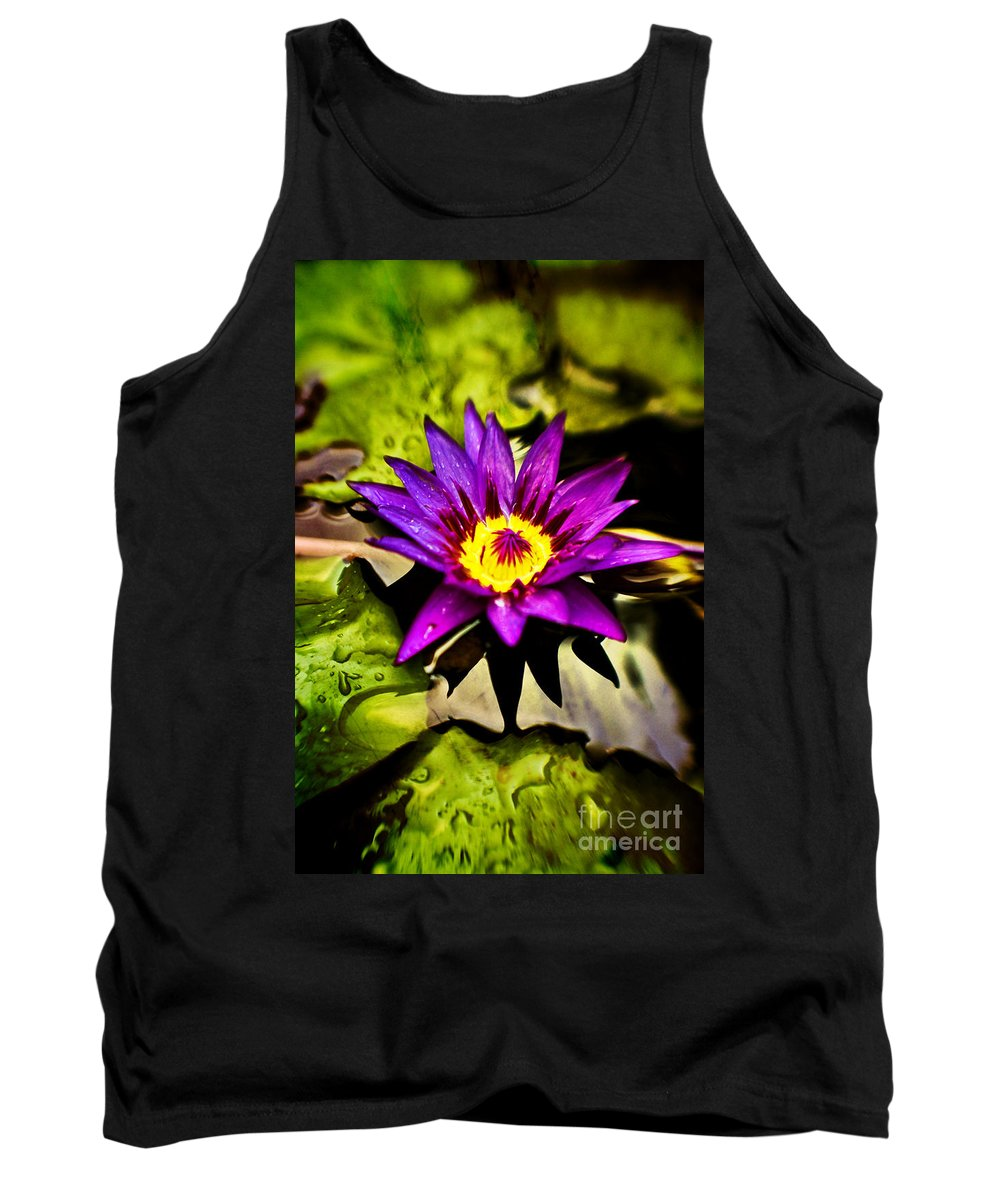 Flower Tank Top featuring the photograph Rise And Shine by Scott Pellegrin