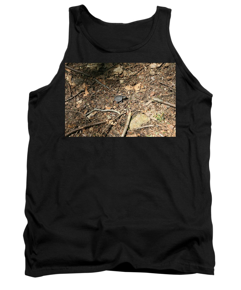 River Journey Tank Top featuring the photograph River Journey by Neal Eslinger